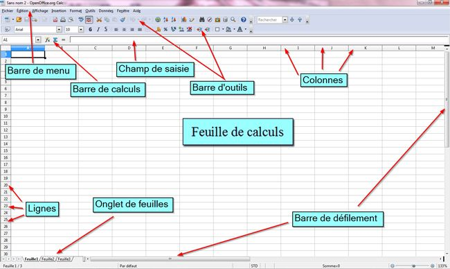 Libre Office Calc Image 1